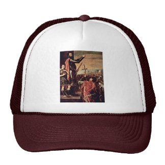 Address By The Marqués Del Vasto To His Soldiers Trucker Hat