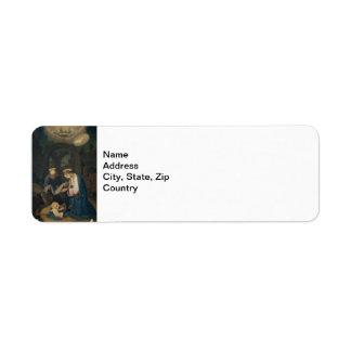 Address Label: Birth of Christ