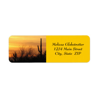 Address Labels--Arizona Sunset-3