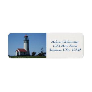 Address Labels--Lighthouse