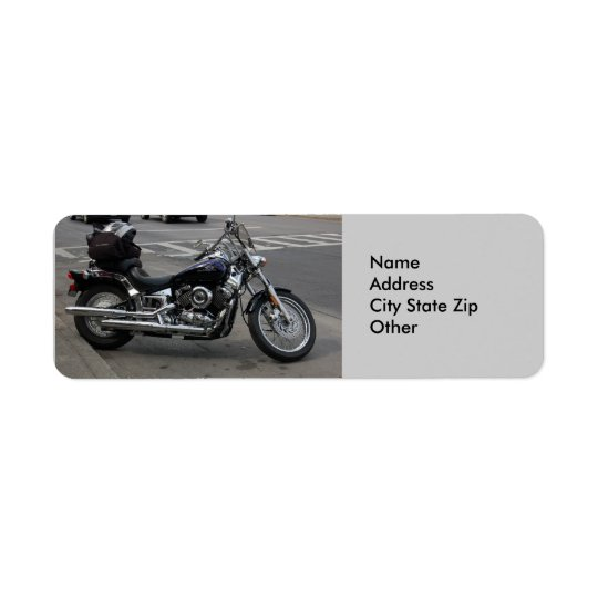 Address Labels  Motorcycle