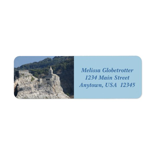 Address Labels--Rock Island Church Return Address Label