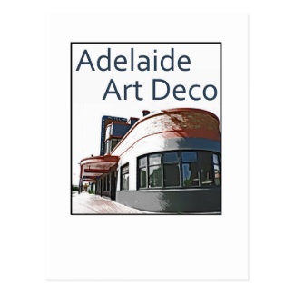 Adelaide Art Deco - Woodville Hotel Postcard
