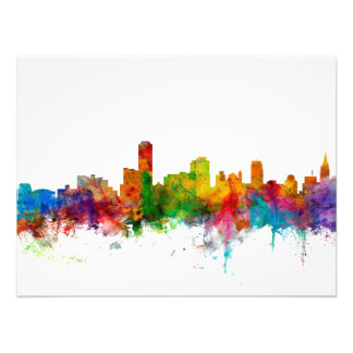 Adelaide Australia Skyline Art Photo