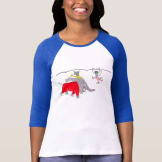 Adelaide Learns To Skate T-Shirt