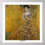Adele Bloch Bauer by Gustav Klimt Poster