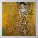 Adele Bloch Bauer by Gustav Klimt Posters