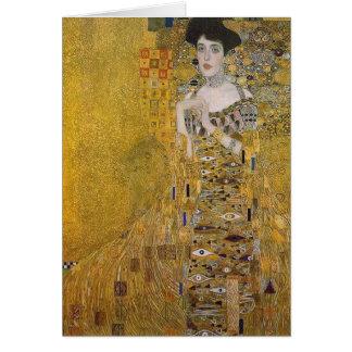 Adele Bloch-Bauer s Portrait by Gustav Klimt Greeting Cards