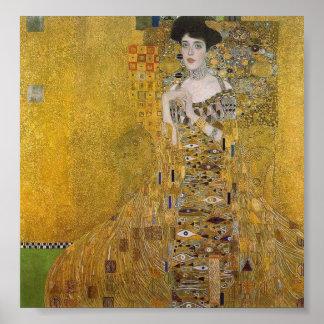 Adele Bloch-Bauer s Portrait by Gustav Klimt Posters