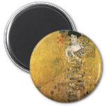 Adele Bloch-Bauer's Portrait 6 Cm Round Magnet