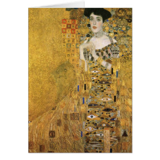 Adele Bloch-Bauer's Portrait Greeting Card