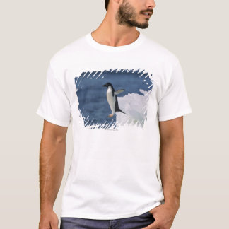 Adelie penguin leaping from iceberg T-Shirt