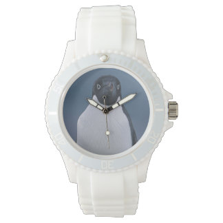 Adelie Penguin on Ice Watch