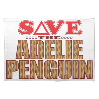 Adelie Penguin Save Placemat