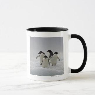 Adelie Penguins on Ice Flows Mug