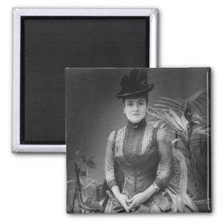Adelina Patti, 1880 Square Magnet