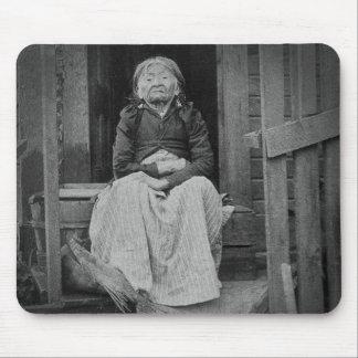 Adeline Princess of Seattle Washington 1896 Mouse Pads