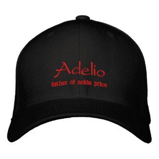 Adelio Name Cap / Hat Embroidered Baseball Caps