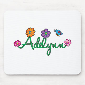 Adelynn Flower and Butterfly Mouse Pads