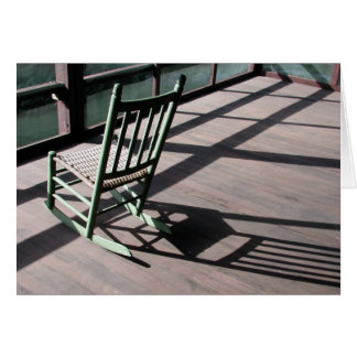 Adelynrood rocking chair greeting card