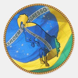 Adesivos Round Sticker