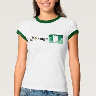 Adfantage Nigeria Logo & Flag T-Shirt