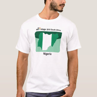 Adfantage Single Icon - Nigeria T-Shirt