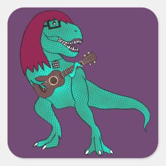ADH T-Rex Square Sticker