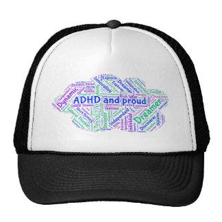 ADHD and Proud - Motivational Inspirational Cap