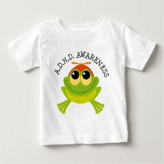 ADHD Awareness Cute Frog Baby T-Shirt