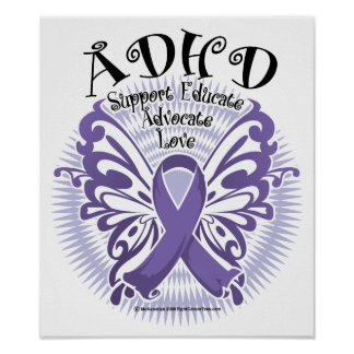 ADHD Butterfly 3 Poster