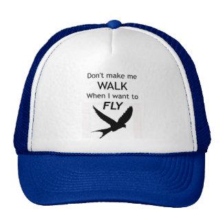 ADHD Motivational Trucker Hat/Cap - I want to FLY Cap