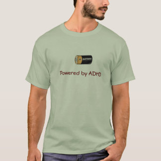 ADHD powered by T-Shirt