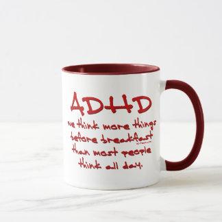 ADHD Think More Mug