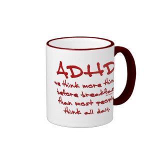 ADHD Think More Ringer Mug