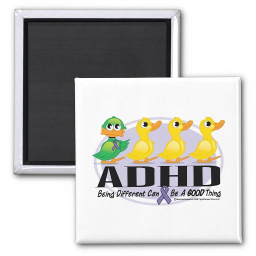 ADHD Ugly Duckling Magnet