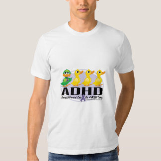 ADHD Ugly Duckling Tshirts