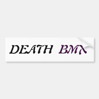 Adhesive Death Bmx Bumper Sticker