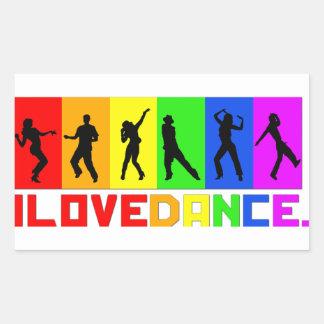 """Adhesive """"I love dances """""""