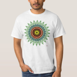 Adiantum Mandala Tee Shirts