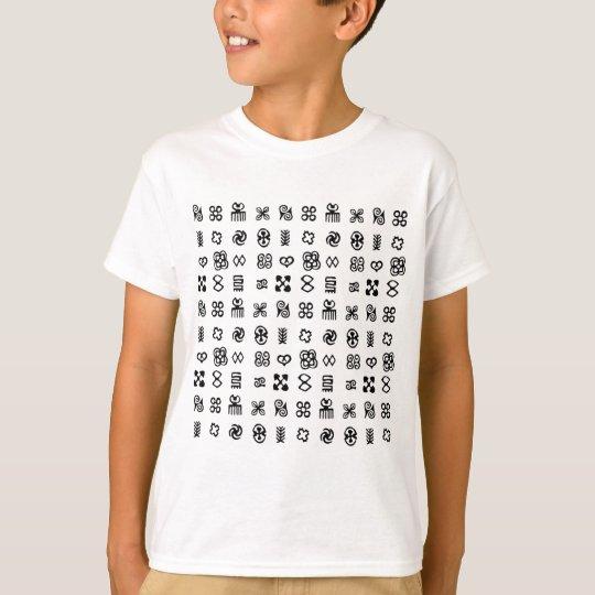 Adinkra African Symbols T-Shirt