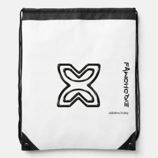 Adinkra - Fawohodie - Drawstring backpack