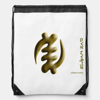 Adinkra - Gye Nyame Drawstring Bag