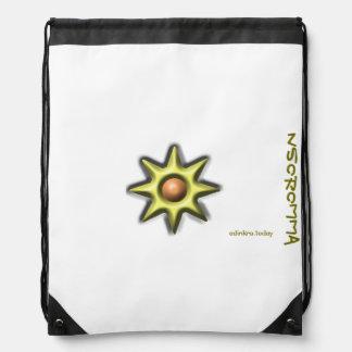Adinkra - Nsoromma Drawstring Bag