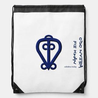 Adinkra - Odo Nyera Fie Kwan Drawstring Bag