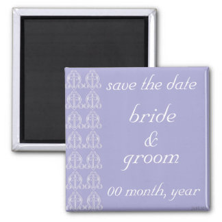 adinkra odo nyera (love finds its way) lavender square magnet