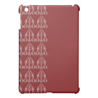 adinkra odo nyera (love finds its way) sangria iPad mini cover