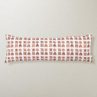 "Adinkra symbols Body Pillow ( 20"" x 54"")"