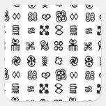 Adinkra Symbols Sticker
