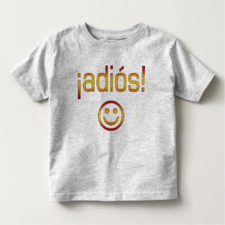 ¡Adiós! Spain Flag Colors Toddler T-Shirt